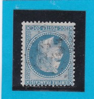 N° 29 A    GC  3152   RIVE-sur-FURE  /  37 ISERE  - REF DIVAC - 1863-1870 Napoleon III With Laurels