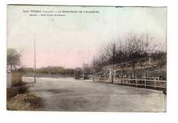 33 Pessac Le Rond Point De L' Alouette Cpa Cachet 1908 Tram Tramway - Pessac