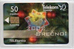 Telekom Slovenije 50 Imp. - SREČNO 2002 - Eslovenia