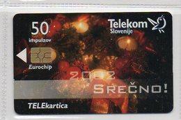 Telekom Slovenije 50 Imp. - SREČNO 2002 - Slowenien