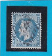 N° 29 B    GC  3338   SAVERNE  /  67 BAS-RHIN  - REF DIVAC - 1863-1870 Napoleon III With Laurels