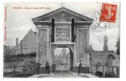 Bergues (Nord) Eglise S. Martin + Porte De Cassel    LES 2 CARTES - Bergues