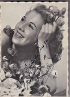 MALIZA ZINI, MARIA LUISA ZAMBRINI. ACTRESS ARGENTINE (1921-1985) SIZE 10x14cm - BLEUP - Autographes