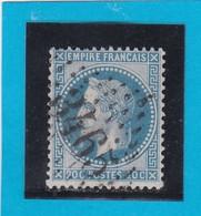 N° 29 A    GC  3465  STRASBOURG Ou SOLIGNY La TRAPPE  - REF DIVAC - 1863-1870 Napoleon III With Laurels