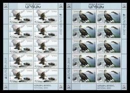 Armenia (Nagorno-Karabakh) 2019 Mih. 191/92 Europa. National Birds. Fauna. White-Tailed Eagles (2 M/S) MNH ** - Armenien