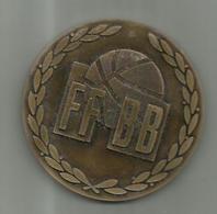 Medaille FEDERATION FRANCAISE DE BASKETBALL  BRONZE 7 CM - Sports