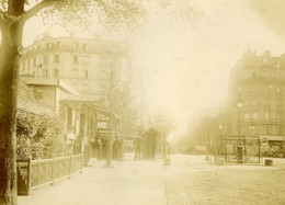 France Paris Octroi Barriere De Clichy Ancienne Photo Amateur 1910 - Lugares