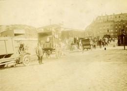 France Paris Octroi Barriere De Clichy Ancienne Photo Amateur 1910 - Places