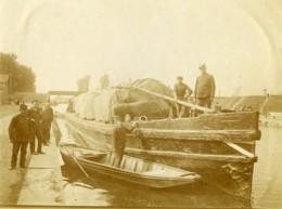 France Paris Bords De Seine Octroi Police? Ancienne Photo Amateur 1910 - Plaatsen