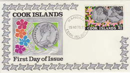 COOK ISLANDS 1976 FDC With Kingfisher.BARGAIN.!! - Non Classés