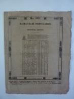 ALMANACH POPULAIRE CALENDRIER 1935  TROISIEME EDITION  MAI NANTES MENSUEL  JOURNAL Imprimerie  DE MELLINET  Chem 3-36 - Big : ...-1900