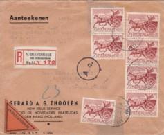 Nederland R Brief 1943 - 1891-1948 (Wilhelmine)