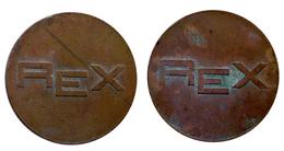 04412 GETTONE TOKEN JETON FICHA LANDRY WASHING MACHINE  REX BRONZE - Allemagne