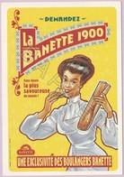 Publicité Sur Carte Postale - Banette 1900 Tradition Française - Reclame