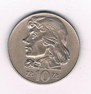 10 ZLOTY 1969  POLEN 2463/ - Pologne