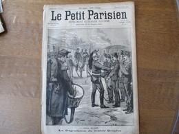 LE PETIT PARISIEN DU 13 JANVIER 1895 LA DEGRADATION DU TRAITRE DREYFUS,LA GUERRE ENTRE LA CHINE ET LE JAPON REMPARTS DE - Journaux - Quotidiens