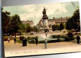 LYON Place Carnot CPA Animée  Ecrite En 1907 TBE Edit LL - Autres