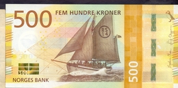 Norway 500 Kroner 2018 UNC  P-56 < Ship > Super Price! - Norvège