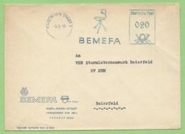 EMA - 1956 - DDR - Chaisse De Bureau BEMEFA - Usines & Industries