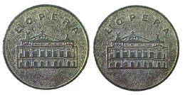 04964 GETTONE TOKEN JETON TURISTICO PARIGI L'OPERA - France