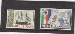 B2 - 79 ** MNH De 1967 Et 340 ** MNH De 1984 - H.M.S. RESOLUTION De James COOK En 1774 - - Ile Norfolk