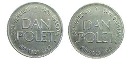 03203 GETTONE TOKEN JETON DENMARK GAMING DAN POLET INDLOSES IKKE - Jetons & Médailles