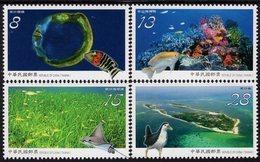 Taiwan - 2019 - Dongsha Atoll National Park - Mint Stamp Set - Neufs
