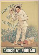 Publicité Sur Carte Postale - Chocolat Poulain (1898) (Firmin-Bouisset 1859-1925) - Reclame