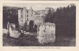 Beaufort, Vue Exterieure De L'ancien Château (pk57345) - België