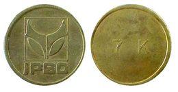 04962 GETTONE TOKEN JETON BELGIUM WASHING MACHINE LAUNDRY IPSO - Pays-Bas