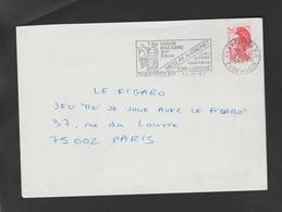 "Flamme Dpt 28 : CHARTRES RP (SCOTEM N° 6748 émise Le 02/05/1984) : Spectacle ""Danse Macabre"" MESLAY LE GRENET - Postmark Collection (Covers)"