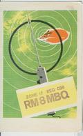 RUSSIA-MOSCOW-RADIO AMATORIALE- 2 APRILE 1984 - - Radio Amatoriale
