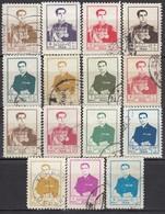 IRAN 1954 - MiNr: 917-957   Lot 15x   Used - Iran