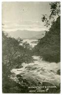 LAKE DISTRICT : DERWENTWATER & SKIDDAW FROM ABOVE LODORE - Cumberland/ Westmorland