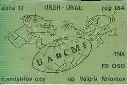 RUSSIA - Kamyshlov (Russian: Камышло́в)-RADIO AMATORIALE- 21 APRILE 1984 - - Radio Amatoriale