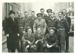 Grote Foto Photo (13 X 18 Cm) Liège 4 C.I.P. ? Soldaat Militair Soldat Militaire (Photo Robyns Liège) - Liege