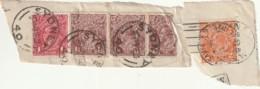 ///  FRANCE  N°   - Fragments De Lettre - - 1913-36 George V : Other Issues