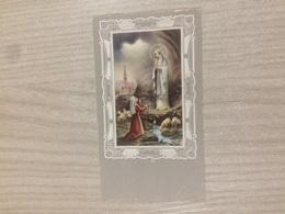Santino Madonna Di Lourdes - Images Religieuses