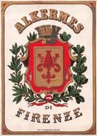"""07772 """"ALKERMES DI FIRENZE"""" ETICH. ORIG. - Etichette"""