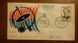 Premier Jour  FDC..    FOUCUALT  1959 .. PARIS .. Physicien - FDC