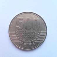 500 Colones Münze Aus Costa Rica Von 2005 (sehr Schön Bis Vorzüglich) - Costa Rica