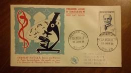 Premier Jour  FDC..   Charles  NICOLE  .. 1958 .. - FDC
