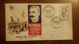 Premier Jour  FDC..   WIDAL . 1958 .. PARIS   .. Clinicien - FDC