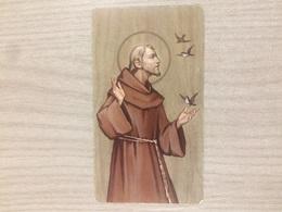 Santino San Francesco Del Monastero Francescano In Montello (bg) - Images Religieuses