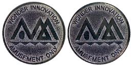03364 GETTONE TOKEN JETON JAPAN GAMING AMUSEMENT WONDER INNOVATION - Jetons & Médailles
