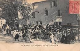 CPA La Bourine - Le Cabaret ( Un Bal Champêtre ) - Restaurants