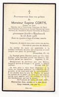 DP Im. Mort. FR Nord - Docteur En Droit / Comité Flamand / Historien - Eugène F Cortyl ° Bailleul 1846 † Hazebrouck 1935 - Images Religieuses