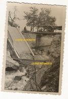 WW2 PHOTO ORIGINALE Soldat Allemand 1940 Pont Ko à FUMAY Près Haybes Revin Charleville Mézières 08 ARDENNES - 1939-45