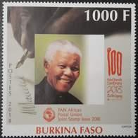 Burkina Faso 2018 Nelson Mandela Joint Issue Emission Commune Gemeinschaftsausgabe Mnh - Emissions Communes