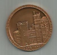 Medaille Narbonne  SIOS TOUJOUR LA VIELHO  CAPITALO   ..6.8 CM ET BOITE D ORIGINE ETAT NEUF - France